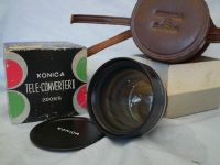 '  Konica Zoom 8 ' Konica Zoom 8 Teleconverter II Cased Boxed -MINT-RARE- £19.99
